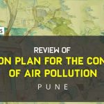 Review of action plan for the control of air pollution: Pune