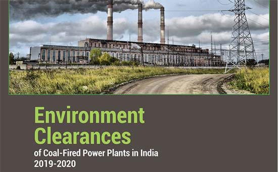 You are currently viewing Environment Clearances of Coal-Fired Power Plants in India 2019-2020