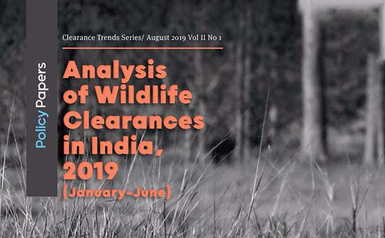 You are currently viewing Analysis of Wildlife Clearances in India , 2019 (Jan- June)