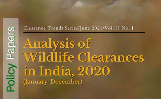 You are currently viewing Analysis of Wildlife Clearances in India, 2020 (January-December)