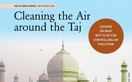 You are currently viewing Cleaning the Air around the Taj