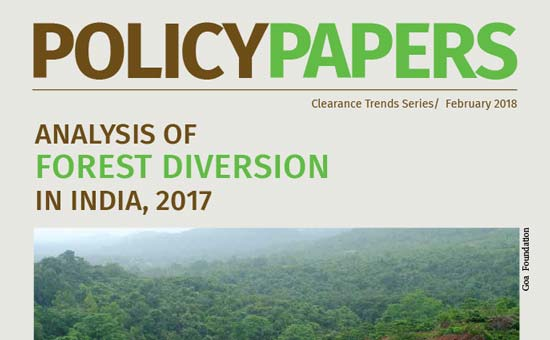 You are currently viewing Analysis of Forest Diversion in India, 2017